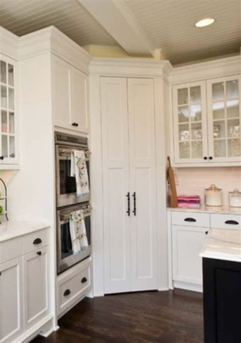 Corner Pantry Cabinet Ideas Building A Corner Pantry Cabinet Woodworking Projects
