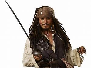 PNG Jack Sparrow (Pirates of the Caribbean, Piratas do