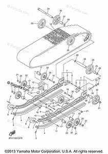 Yamaha Snowmobile 2005 Oem Parts Diagram For Track