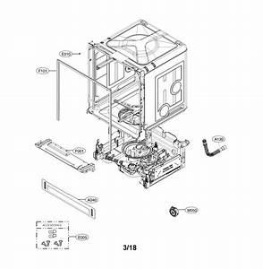 Lg Ldf5545bd  00 Dishwasher Parts
