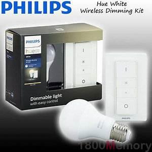 Philips Hue White E27 Led Lampe Starter Set : philips hue white wireless dimming kit a60 e27 edison led bulb a19 wifi 240v ebay ~ A.2002-acura-tl-radio.info Haus und Dekorationen