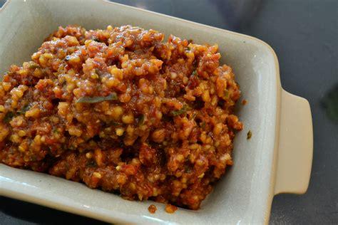 resep membuat kuah pecel sambal pecel lezat