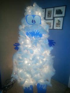 abominable snowman christmas tree  awesome funny