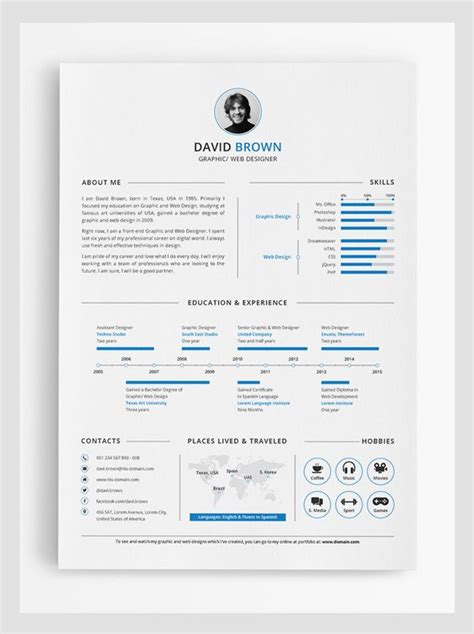 best 25 infographic resume ideas on cv