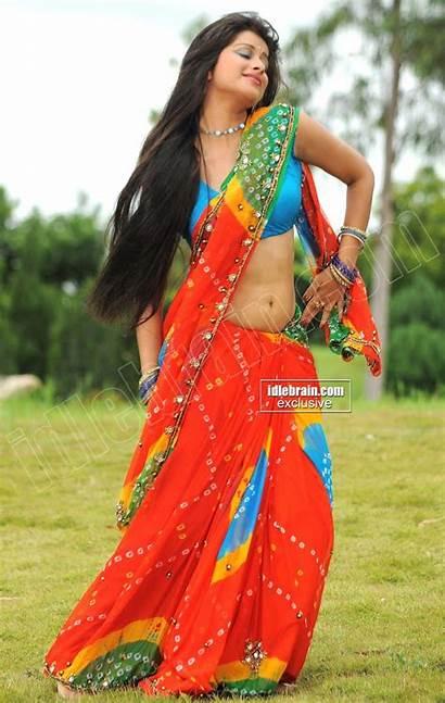 Saree Madhurima Actress Colorful Models Actresses Indian