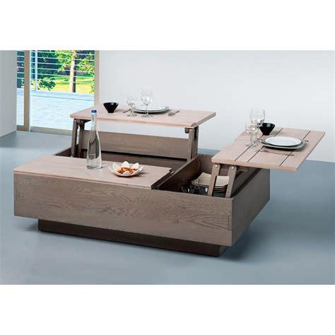 gifi cuisine table basse escamotable gifi le bois chez vous