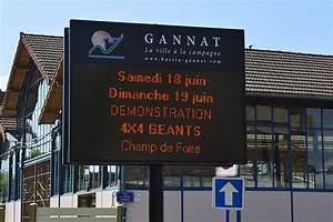 Panneau Lumineux Message : associations sportives mairie de gannat ~ Teatrodelosmanantiales.com Idées de Décoration