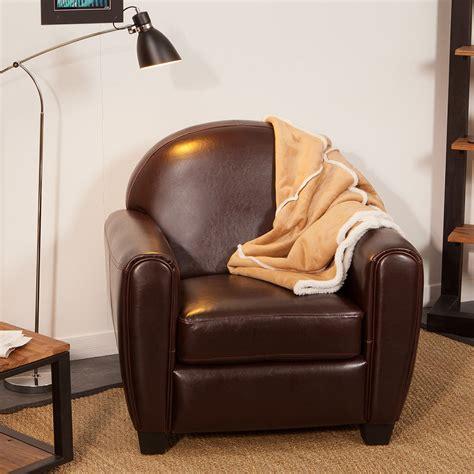 housse canapé en cuir fauteuil croûte de cuir enduite bycast brun tennessee