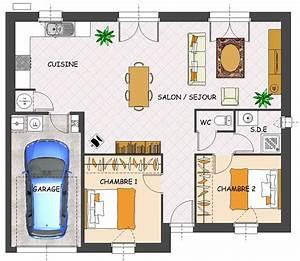 construction maison plain pied 2 chambres ventana blog With plan de maison plain pied 2 chambres