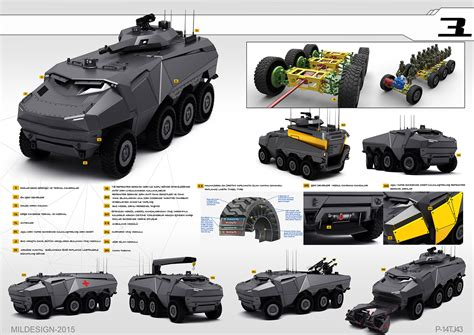 concept armored vehicle the concept of a new andarkan wheeled armoured vehicles