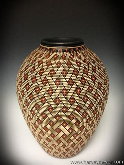 basket illusion vessels wood turning projects
