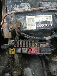 Diagram Of Fuses On A 94 Wrangler Under Hood