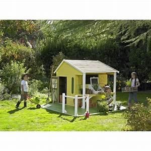 Maison Pour Enfant En Bois : maison jeux ext rieur cerland maisonnette bois pour enfant ~ Premium-room.com Idées de Décoration