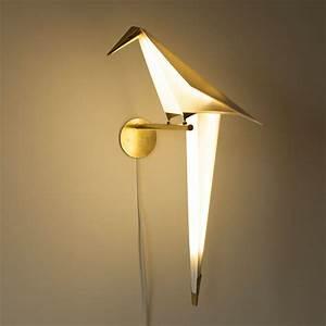 Origami Bird Lights by Umut Yamac   Colossal