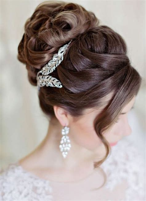 1000 ideas about wedding bun hairstyles on