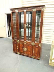 50801 bernhardt oriental china cabinet breakfront ebay