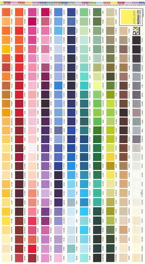 kona cotton color chart    panel digital print quilt fabrics  wwwequiltercom