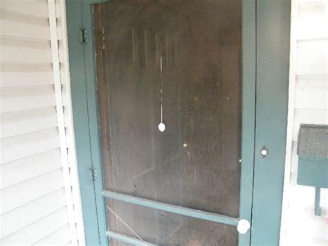 hanging screen door earthpress cotton hanging on a screen door