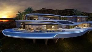 Amazing, And, Luxury, Futuristic, Looking, Home, Concept, From, Vantage, Design, Group