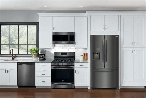 frigidaire launches affordable black stainless appliances gear patrol