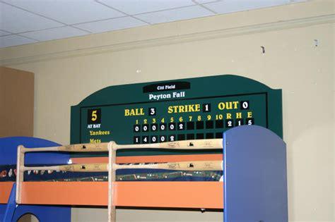 baseball loft bed  dugout custom  chris davis