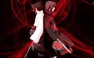 Itachi Uchiha vs Sasuke Uchiha wallpaper | anime ...