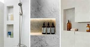 Etagere Dans La Douche : etagere pour douche italienne excellent utilisez une ~ Edinachiropracticcenter.com Idées de Décoration