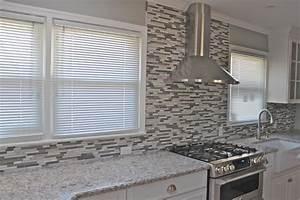 Glass Window Cheap Kitchen Backsplash Ideas Nice Gray