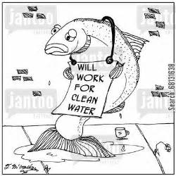 Clean Water Pollution Cartoon