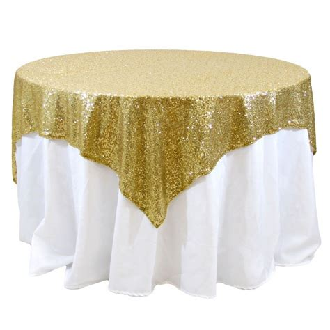 tablecloth for 54x54 square table 10 sequins overlays 54 quot x 54 quot square tablecloth 4 colors