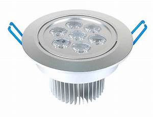 Dimmable w recessed led lighting fixture