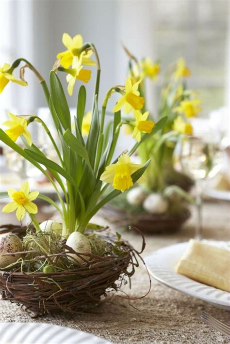 top  spring flower easter table centerpieces april holiday home decor idea holicoffee