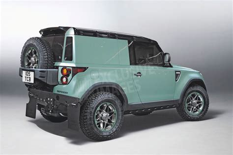 Land Rover planning for a family of Defenders