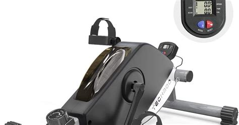 TECHMOO Pedal Exerciser Compact Magnetic Peddler ...