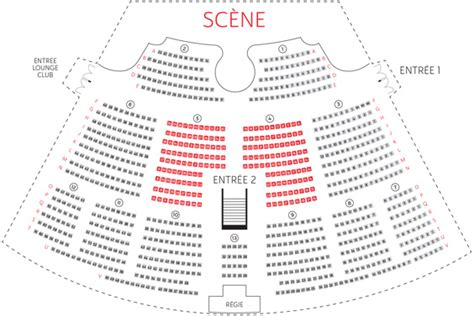 plan de la salle de spectacle du grand rex royal palace kirrwiller plan salle spectacle
