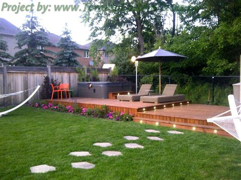 cedar patio decks and landscaping design toronto custom