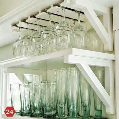 smart storage solution glass rack  ways  customize  kitchen     house
