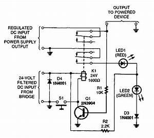Short Circuit Protection Circuit Diagram