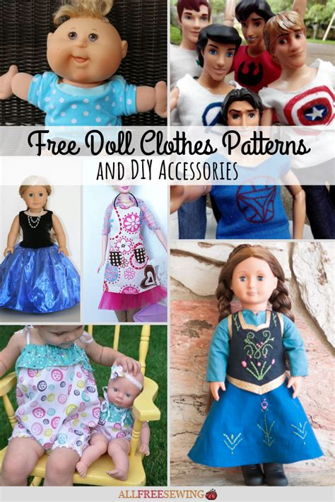 doll clothes patterns  diy accessories