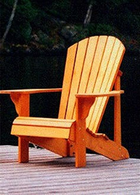 standard size adirondack chair plan downloadable