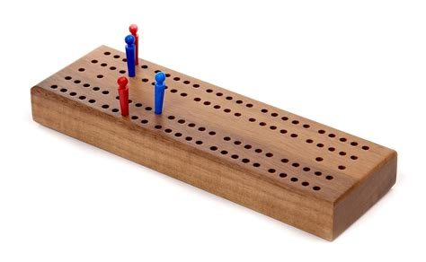 mat board cribbage board in wood zontik