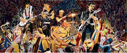 Ronnie Wood Rolling Stones Exhibition Roll Rock