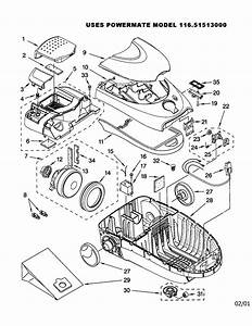 Kenmore Canister Vacuum Cleaner Parts