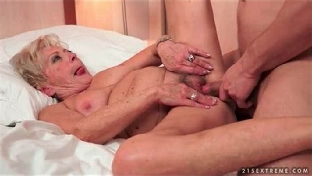 #Granny #Bush #Fucked #By #His #Young #Dick