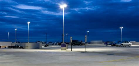energy saving lighting solutions parking lot lighting