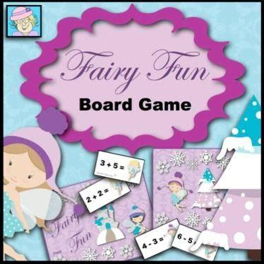 fairy fun board game addition subtraction