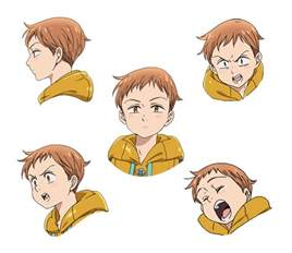 Anime Seven Deadly Sins Nanatsu No Taizai Characters
