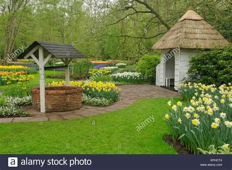 Wishing Well Garden Stock Photos & Wishing Well Garden