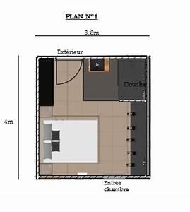 avis plan chambre parentale avec salle de bain With plan chambre avec salle de bain