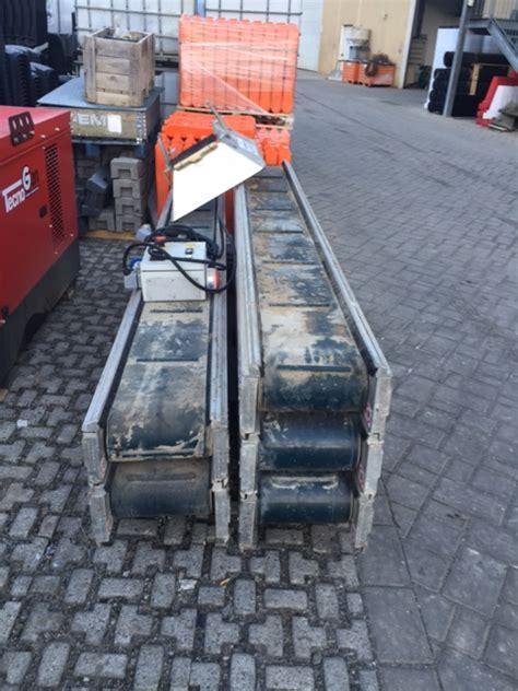 tappeti trasportatori nastri tappeti trasportatori componibili 5 pz da 3m